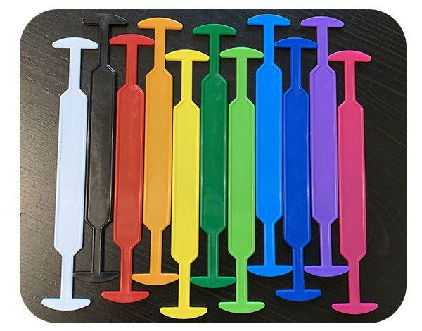 Ручки для картонных коробок, пластмассовые ручки для упаковки