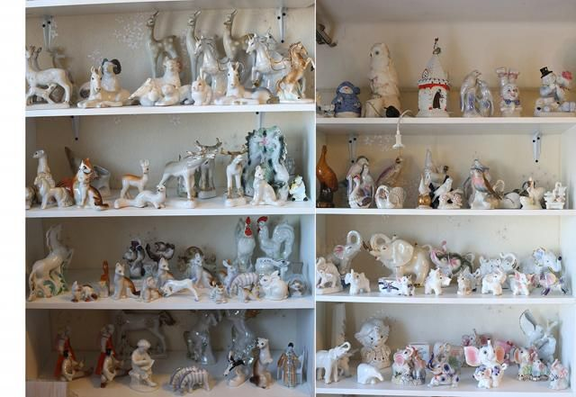Распродажа большой коллекции фарфоровых статуэток