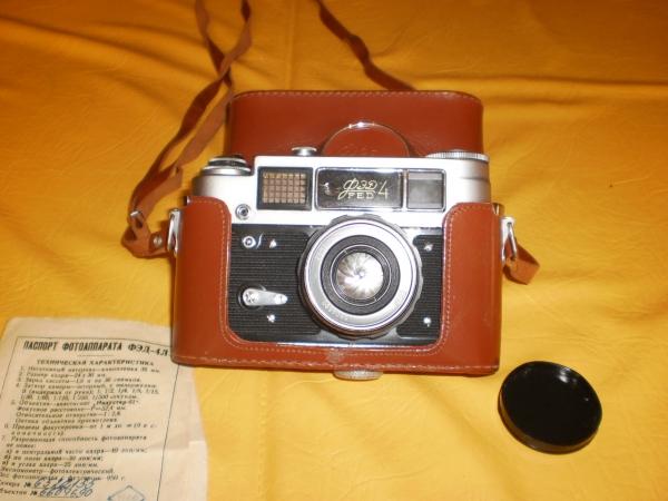 Фотоаппарат фэд 4 с набором фотолюбителя