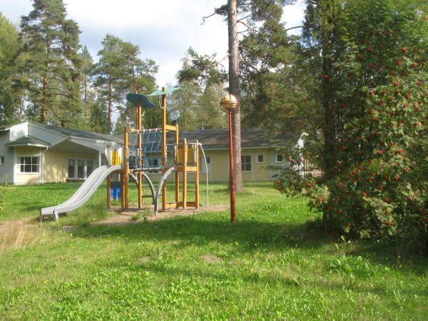 Лето на базе отдыха в Финляндии.