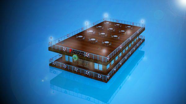 """Понтоны. Взрослое """"Лего"""" на воде Санкт-Петербург"""