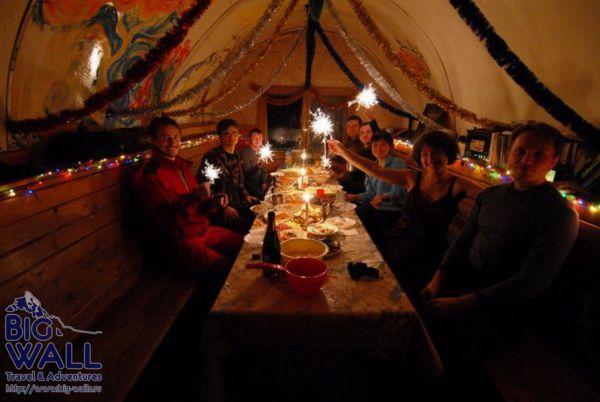 Новый год в горах Алтая