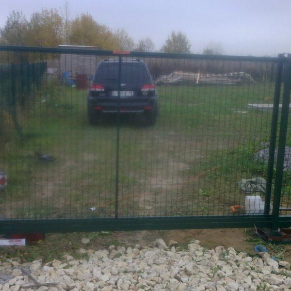 Откатные ворота 3, 0*1, 7 м от 16000 руб.