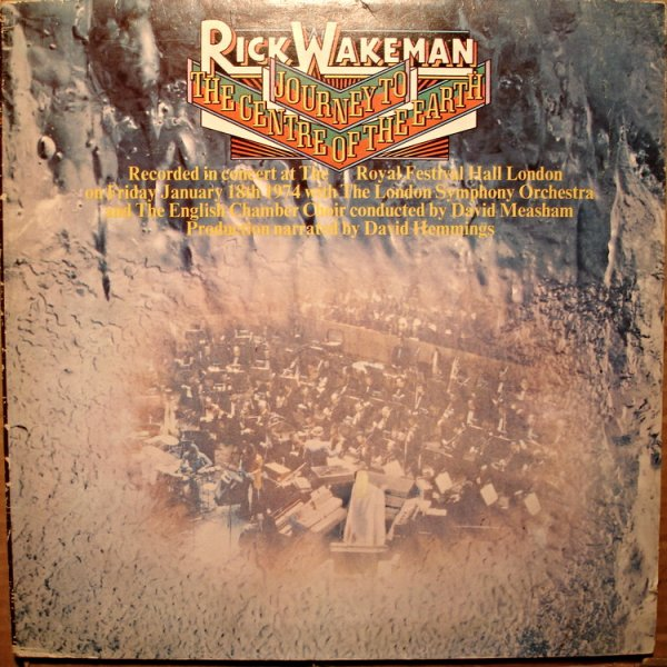 Пластинка Rick Wakeman – Journey To The Center Of The Earth(SW)