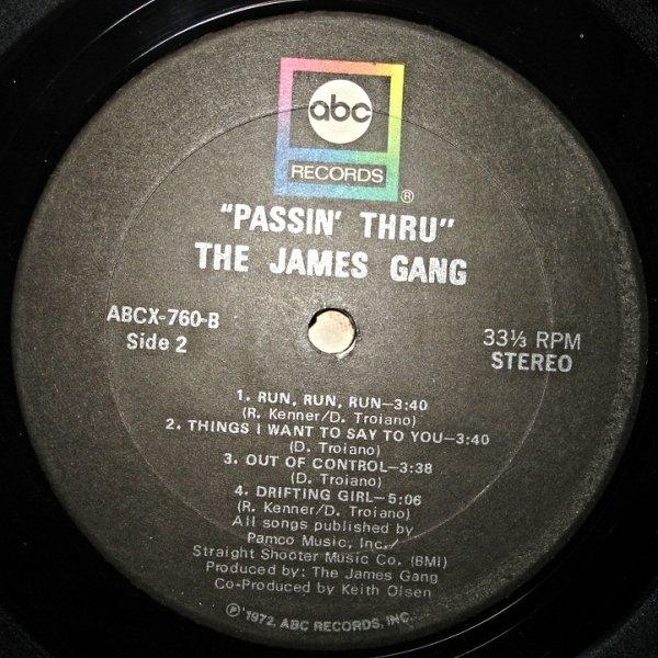 Пластинка виниловая James Gang – Passin' Thru
