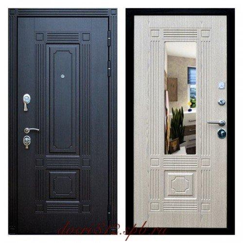 Кондор Мадрид дверь с зеркалом беленный дуб