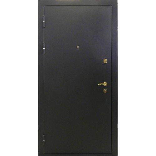 Металлическая дверь Булат черный шелк