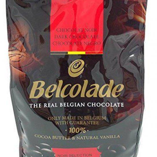 Шоколад 56% Чёрный Нуар Селексьон в таблетках.  Belcolade.  Пакет 500гр