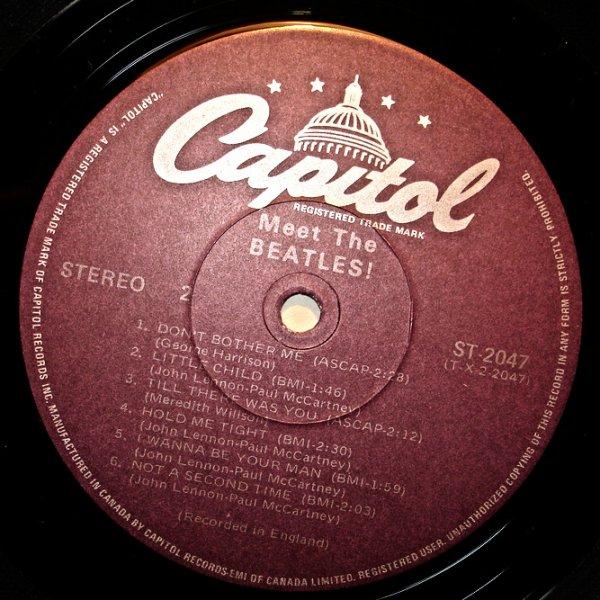 Пластинка виниловая  The Beatles - Meet The Beatles!  (MINT)