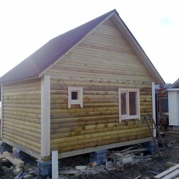 услуги по строительству домов,  бань в Санкт-Петербурге