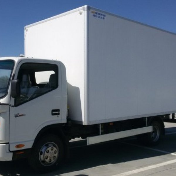 Фургон изотермический JAC N75