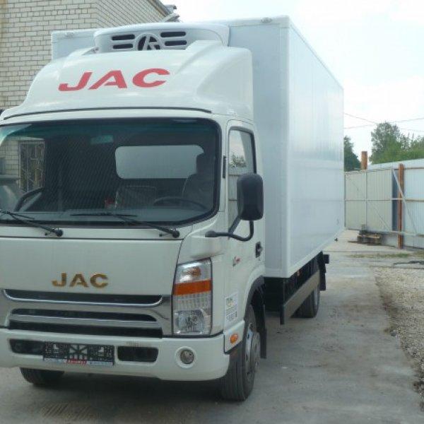 Грузовик рефрижератор JAC N75