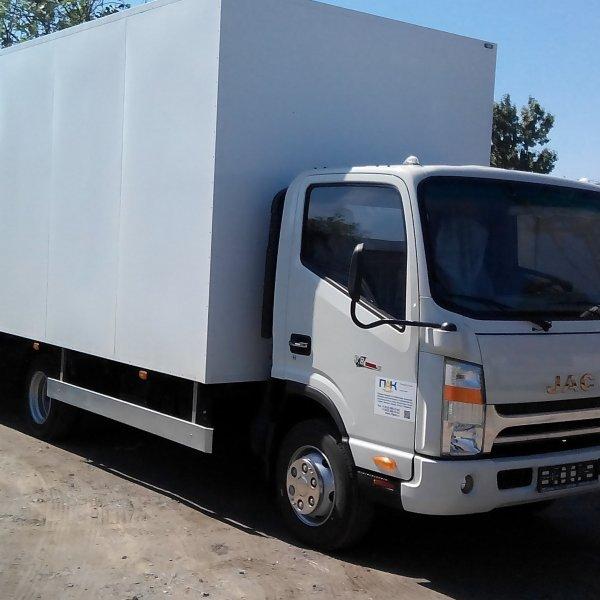Промтоварный фургон 25м3  на JAC N75