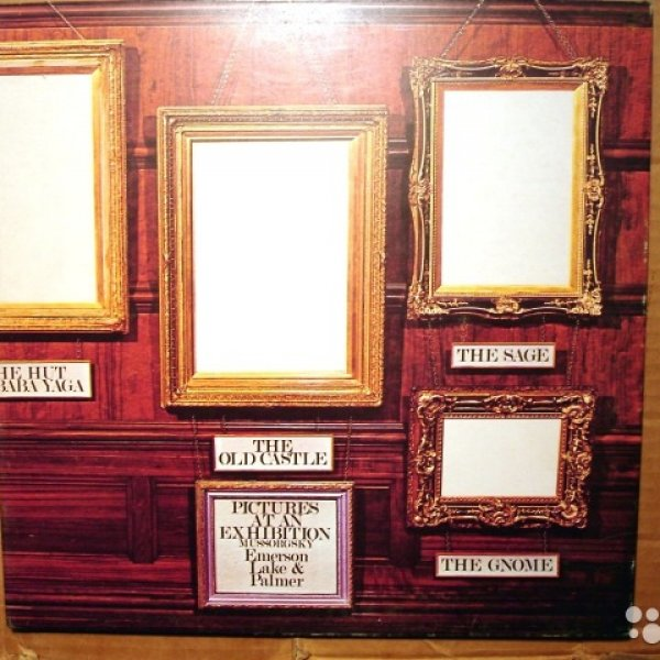 Пластинка виниловая  Emerson,  Lake And Palmer ‎– Pictures At An Exhibition