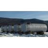 Cтальные резервуары для дизельного топлива, АЗС