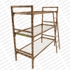 Металлические кровати для домов отдыха, кровати для рабочих, кровати с деревянными спинками для пансионата