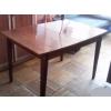 Большой обеденный деревянный полированный стол