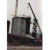Демонтаж резервуаров из под нефтепродуктов.