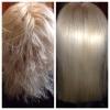 Кератиновое выпрямление и восстановление волос