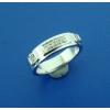 Кольцо из серебра с бриллиантами