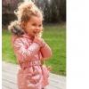 Курточка новая для девочек розовая - весна,осень.