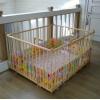 манеж детский деревянный 1.2х1.5м с калиткой для малышей