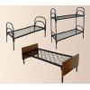 Металлические кровати от производителя оптом для общежитий, гостиниц, кровати армейские, кровати железные, кровати для лагер
