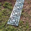 Пластиковый настил дорожка для укладки между грядок огорода