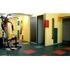 Сборные полы для тренажерных и физкультурных залов - плитка для пола залов фитнеса