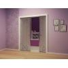 Пенал Фабро Duale  для двух дверных полотен в стену.