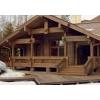 Покраска домов, бань и других конструкций из бруса или бревна.