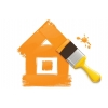 Покраска домов и бань из бруса и бревна.