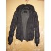 Куртка из Америки черного цвета с капюшоном бу