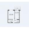Продается квартира в новостройке 38,15 кв.м.