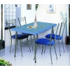 Столы на металлических подстольях для ресторанов и кафе.