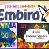 Компьютерные вышивальные программы Embird 2018 плюс 2017 Rus